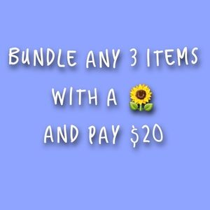 Other - 3 🌻 for $20